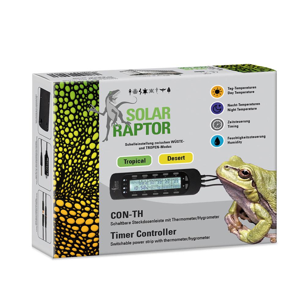 SolarRaptor CON-TH Klimaregelung Steuerungsgerät